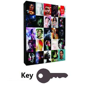 China Adobe Creative Suite 6 Master Collection Key on sale