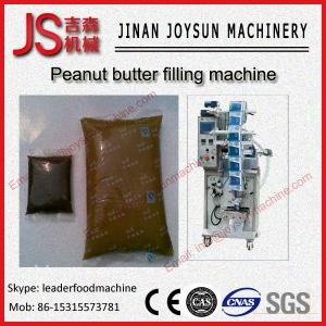 China Electric Fully Automatic High Viscosity Peanut Butter Filling Machine on sale