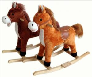 China Fashion Rocking Horse Animals Indoor For Chlidren Riding On Playing on sale