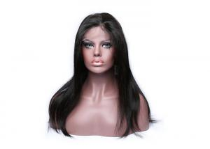 China 100% Virgin Human Hair Lace Wigs , Front Lace Wigs For Black Women on sale