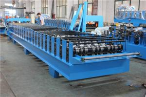 China Floor Decking Sheet Metal Roll Forming Machines High Efficient and Safe on sale