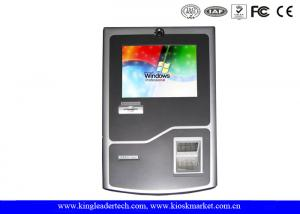 China TFT LCD Display Stylish Wall Mount Kiosk With SAW Touch Screen For Convenience Store on sale