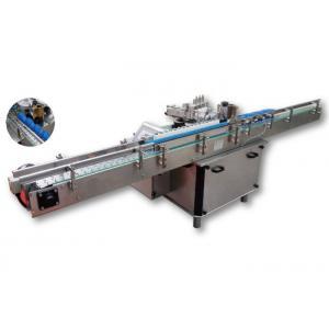 China High Speed Wet Glue Labeling Machine , Bottle Sticker Labeling Machine on sale