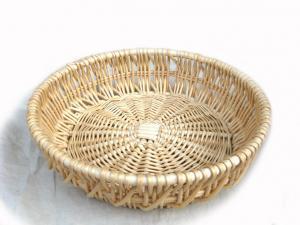 China 34488 wicker basket, food basket, storage basket, wicker bread basket, wicker fruit basket on sale