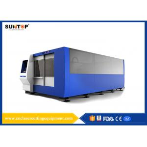 China 2000W CNC Laser Cutting Equipment Dual Exchange Working Tables on sale