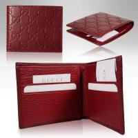 Zipper leather mens trendy wallet