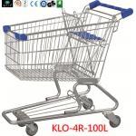 スーパーマーケット 100L 90KGS のための赤ん坊の座席が付いている携帯用食料品の買い物のトロリー