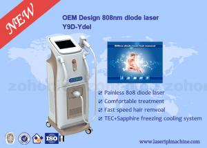 China Touch Screen Professional 808 Diode Laser Hair Removal Machine For Body on sale