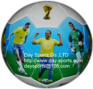 China photo pvc soccer ball on sale