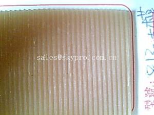 China Line pattern Shoe Sole Rubber Sheet , Non -slip natural rubber soled shoes on sale