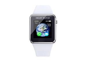 China Bluetooth  Smart Watch With Camara And Pedometer  ,Andriod Green Wrist Watch on sale