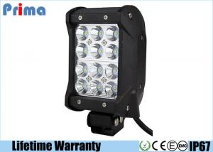China 4inch 36W Quad Row Off road Led Light Bar With Unbreakable Lens Sealed Die Cast Aluminum Housing on sale