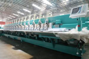 China Multi Color  Computer Controlled Embroidery Machine Low Leakage Rate on sale