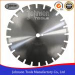 400mm Laser Welded Diamond Blades , Dry Wet Saw Blades For Highway / Road Works