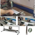 Manual V Grooving Pcb Separator Machine Cutting 460mm Length Pcb