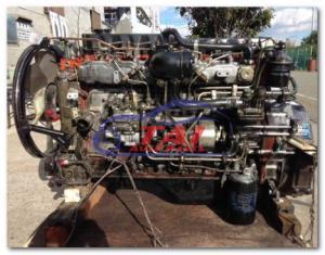 Good Condition Used Engine, Japan Original 6he1 Engine For Isuzu for