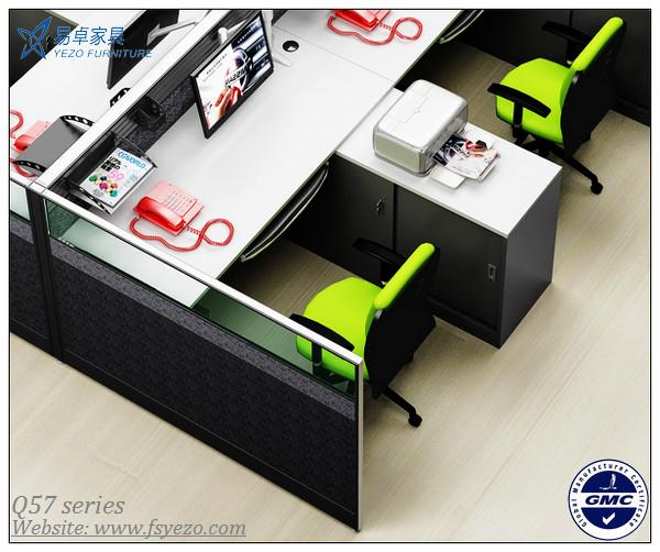 Modular Office Desk Partitions, Melamine Office Desk With Side Return