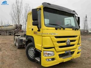 China Sinotruck  Used Tractor Trucks 10 Wheel 50 Tons 2014 Year With Short Mileage on sale