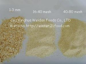 China garlic granules 001 on sale