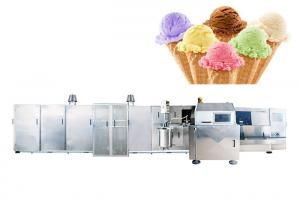 China High Capacity 3500 PCS / Hour Ice Cream Cone Machine Less Gas Consumption on sale