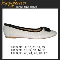 Large Size Round Toe Flats - US11, 12, 13, 14, 15, UK9, 10, 11, 12, 13 EU43 44 45 46 47