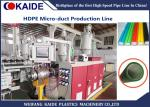HDPE Silicone Microduct Making Machine , Microduct Production Line 8-16mm 60m-120m/min