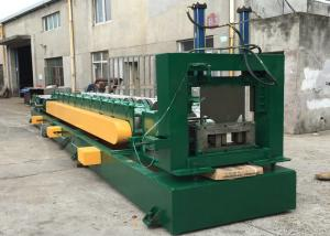 China 15 Roller Stations U Channel  Purlin Roll Forming Machine with Auto Punching Holes on sale