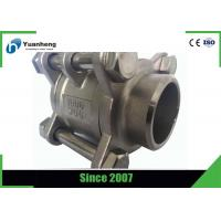 China Butt Weld End 1000PSI 3PC Ball Valve Stainless Steel 316 Material on sale