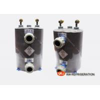 China Vertical 10 HP Coiled Tube Aquarium Heat Exchangerr For Fish Tank Aquarium Chiller on sale
