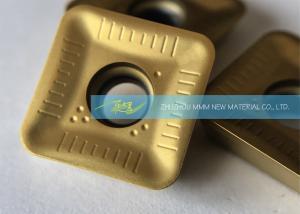 China Light Chipbreaker Carbide Milling Inserts SEMT12T320 For Shoulder Milling With R2.0 on sale
