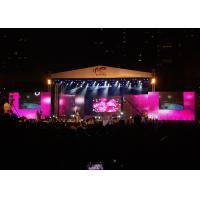 Waterproof Rental LED Displays , full color LED Stage Display for Music Concert