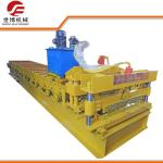 China Automatic Monterrey Glazed Tile Roll Forming Machine With 16 Rows Rollers wholesale
