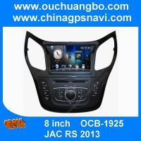 Ouchuangbo car multimedia gps radio DVD navi JAC RS 2013 support spanish BT iPod USB SD