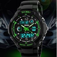 China Multi Function Military S-shock Sports Watch LED Analog Digital Waterproof Alarm Skmei 0931 on sale