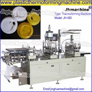 China PS Cup lid Cover thermoforming machine, Good Quality and stable performance on sale