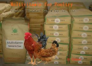China Poultry Powdered Multivitamin Mix , Feed Grade Powder Multi Vitamin No. SV-M-P01 on sale