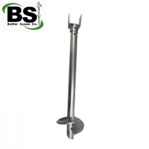 China foreign market hot sale helical piler and anchors with brackets for sale on sale