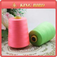 Various Colors High Strength Spun Polyester Sewing Threads 40S/2 Pattern