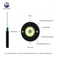 China GYXTW Single mode and Multimode Fiber Optic Cable on sale