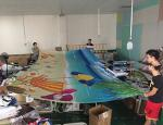 Smooth Large Format Digital Printing Dye Sublimation Billboard Massive Prints