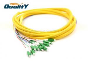 China 12 Strand Single Mode Fiber Optic Cable Diameter 0.9 / 2.0 / 3.0mm on sale