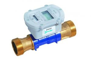 Quality Iron body Electronic Water Meter For AMR System Vertical Helix Type for sale