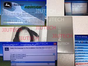 China John Deere Scanner Software AG 4.1 Agriculture for John deere edl diagnosis on sale