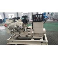 China Three Phase Marine Diesel Generator Set 80KW 100KVA 60Hz 24VDC Starting Motor on sale