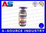 Pharmaceutical Holographic 10ml Vial Labels Custom For Nandrolone