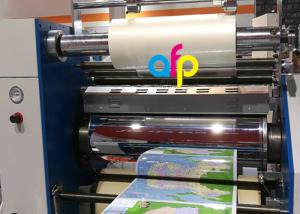 China BOPP Lustre Finish Glossy Thermal Lamination Film Transparency / Opaque on sale
