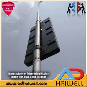 China China Manufacturer Outdoor City New Smart & Digital Street Furniture Pole full color SMD P4 Led Display on sale