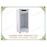OP-1106 Digital Display Temperature Humidity Single Glass Door Air Cooling Refrigerator