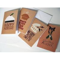 Commercial Custom Christmas Card Printing Service , Greeting Card Printing Services