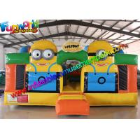 Minions Inflatable Bouncer Jumping Castle, Despicable Me Fun City For Kids